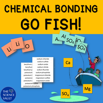 Chemical bonding go fish other games ionic covalent for Go fish instructions