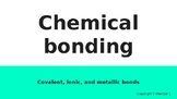 Chemical Bonding Powerpoint