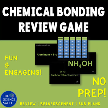 Chemical Bonding Powerpoint Jeopardy Game