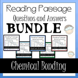 Chemical Bonding Worksheet Activity Bundle