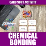 Chemical Bonds Card Sort Activity