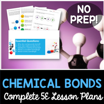 Chemical Bonds Complete 5E Lesson Plan