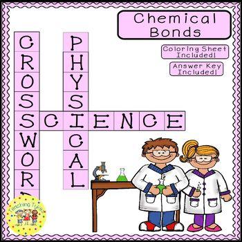 Chemical Bonds Crossword Puzzle