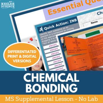 Chemical Bonds - Supplemental Lesson - No Lab