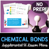 Chemical Bonds - Supplemental Lesson - No Lab