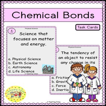 Chemical Bonds Task Cards