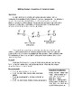 Chemical Bonds Writing Prompt
