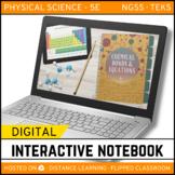 Chemical Bonds and Equations DIGITAL NOTEBOOK - Google Classroom