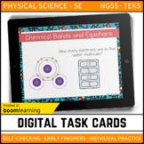 Chemical Bonds and Equations Digital Task Cards - Boom Car