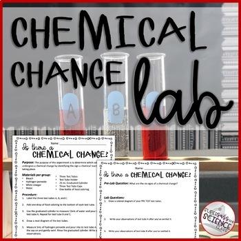 Chemical Change Lab