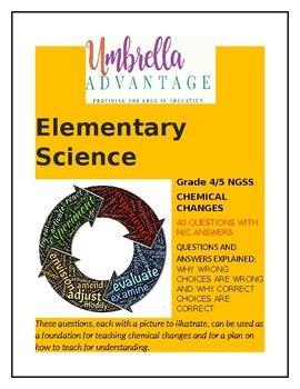 Chemical Changes Exploration Grades 1-4