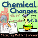 Chemical vs Physical Changes Grade 2 Science New BC Curriculum