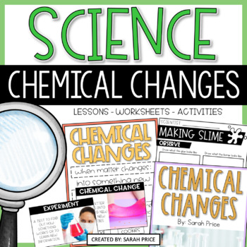 Chemical Changes Interactive Notebook