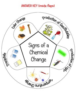 Chemical Changes Interactive Notebook Activity