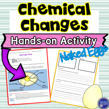 Chemical Changes Hands on Inquiry Activity to Support Your States of Matter Unit