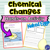 Chemical Changes Hands on Inquiry Activity using Eggs