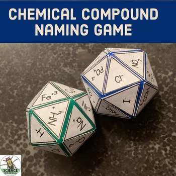 Chemical Compound Naming Chemistry Game