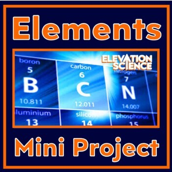 Chemical Element Mini-Research Project - Atomic Structure & Physical Properties