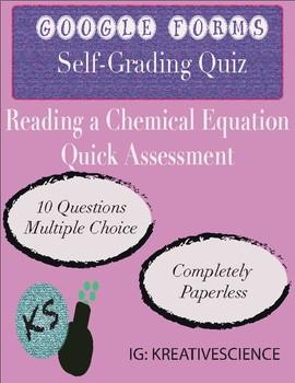 Chemical Equation Quiz