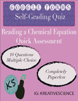 Chemical Equation Quiz