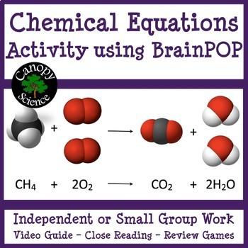 Chemical Equations Brain Pop