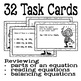 Chemical Equations Task Cards