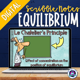 Chemical Equilibrium Digital Scribble Notes | Distance Learning
