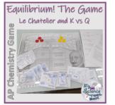 Chemical Equilibrium -- K vs Q and Le Chatelier -- AP Chem Unit 7
