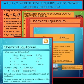 AP Chemistry Unit Bundle - Chemical Equilibrium