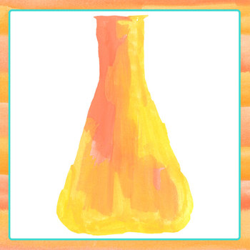 Chemical Flasks - Science Chemistry Handpainted Watercolor Clip Art Set