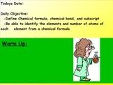 Chemical Formula Lesson