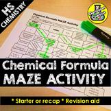 Chemical Formula Activity - MAZE