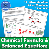 Chemical Formula and Equations MS-PS1-1