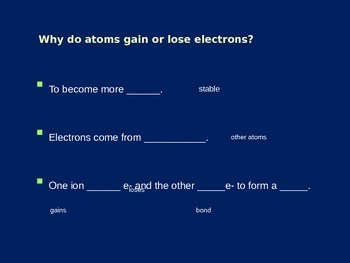 Chemical Formula and How They Are Written Explained (Presentation / Handout)