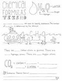 Chemical Formulas Graphic Organizer