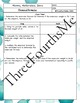 Chemical Formulas Scaffolded Notes