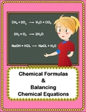 Chemical Formulas and Balancing Chemical Reactions - 3 Wor
