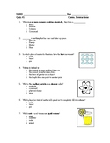 Chemical Interactions Test