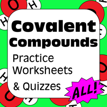 Covalent Compounds Molecular Formulas And Nomenclature For