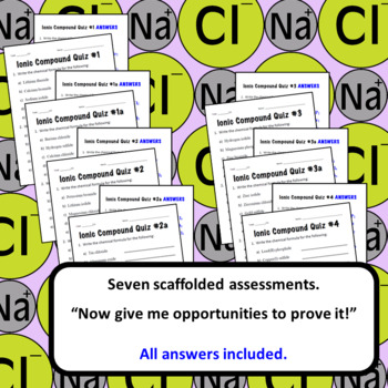 Chemical Nomenclature: Ionic Bonding & Naming Compounds High School Science