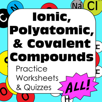 Chemical Nomenclature Naming Ionic, Polyatomic, & Covalently Bonded Compounds