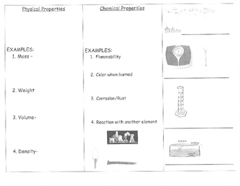 Chemical & Physical Properties Trifold