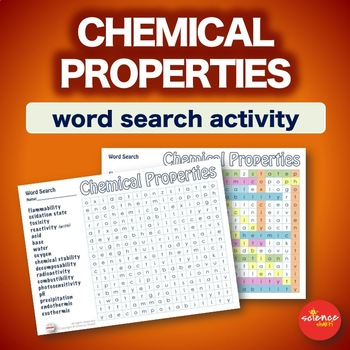 Chemical Properties * WordSearch * Vocabulary * Warm Up * Bell Ringer
