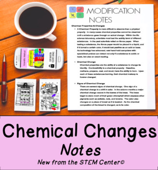 Chemical Properties and Changes Notes