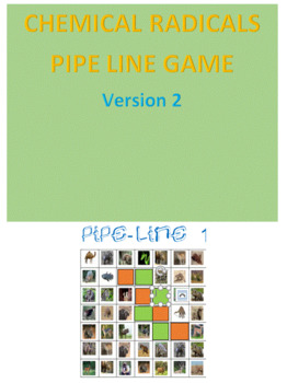 Chemical Radicals Pipe Line Game -- Version 2