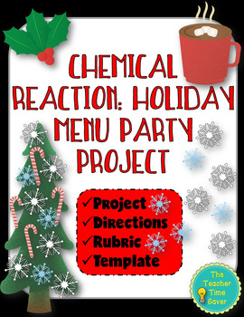 Chemical Reaction: Holiday Menu Party Project (directions,