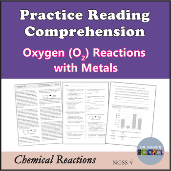 Chemical Reaction Reading Comprehension