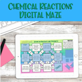 Chemical Reaction for Propane Maze - Digital Distance Lear