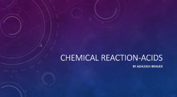 Chemical Reactions-Acids