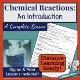 Chemical Reactions: An Introduction Lesson